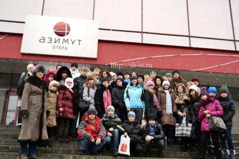 Фото на память.На ступенях к славе февраль 2012